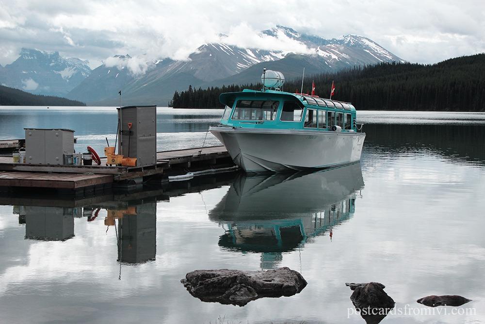 Road Trip por el Parque Nacional Banff y Jasper en Canadá - Lago Maligne