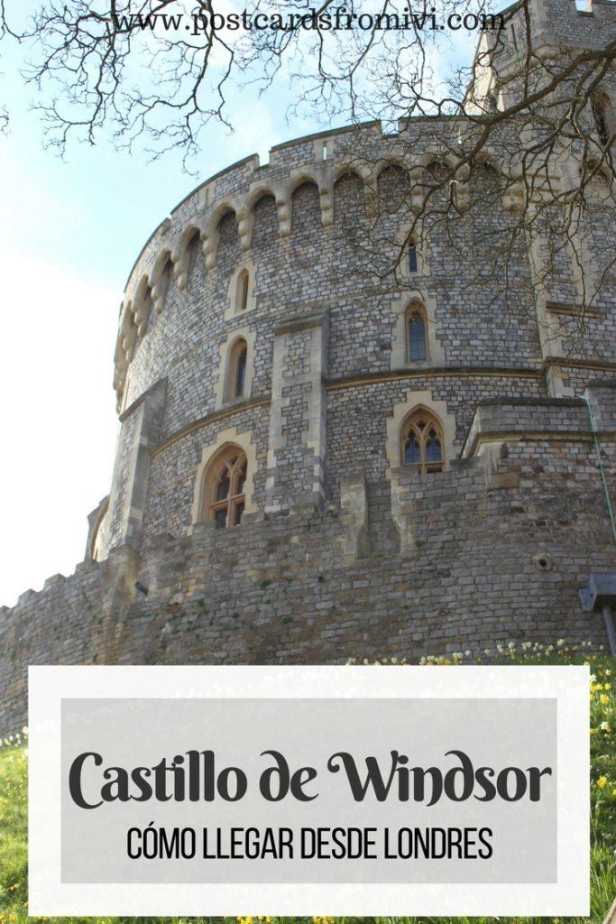 Como llegar al Castillo de Windsor desde Londres