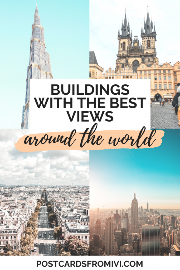 Buildings with the best city views in the world