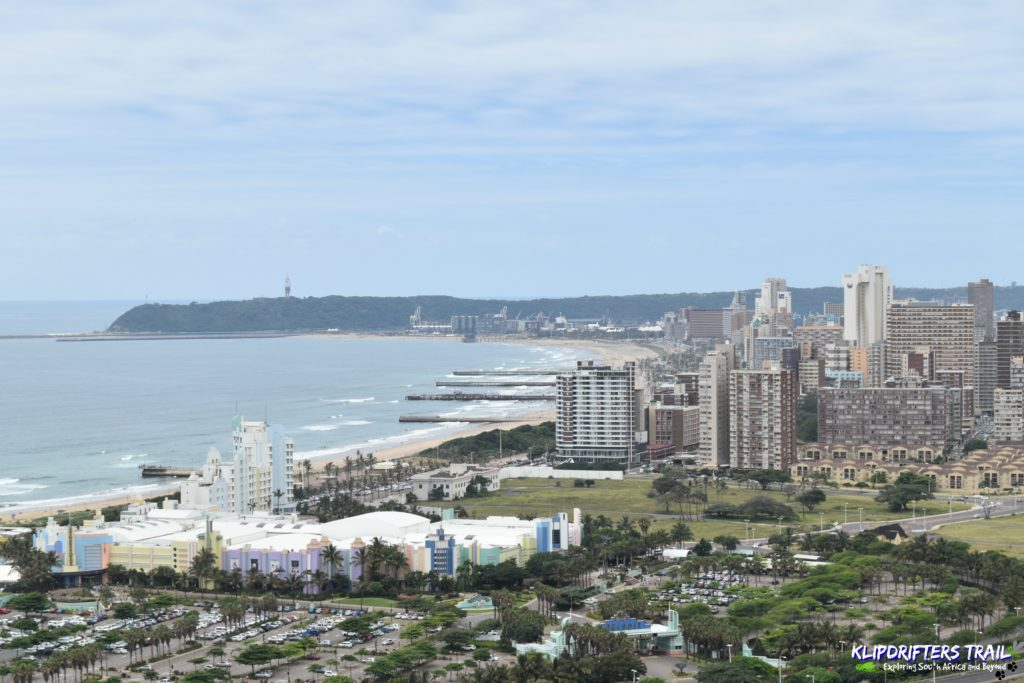 Durban - View From SkyCar platform