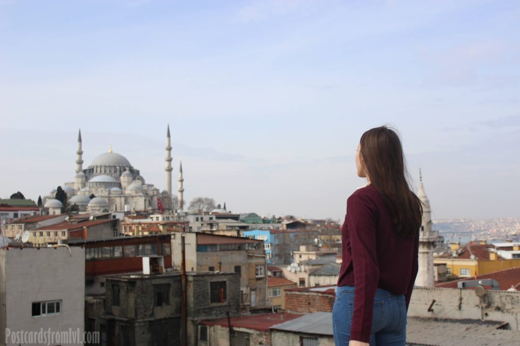 one day in Istanbul