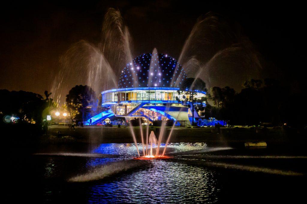 Buenos Aires in 3 days. Planetarium in Bosques de Palermo