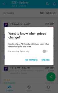 how to use skyscanner app