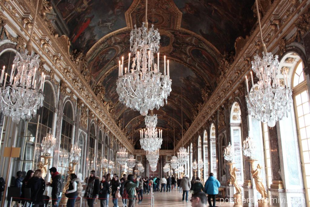 Galería de los Espejos Versalles