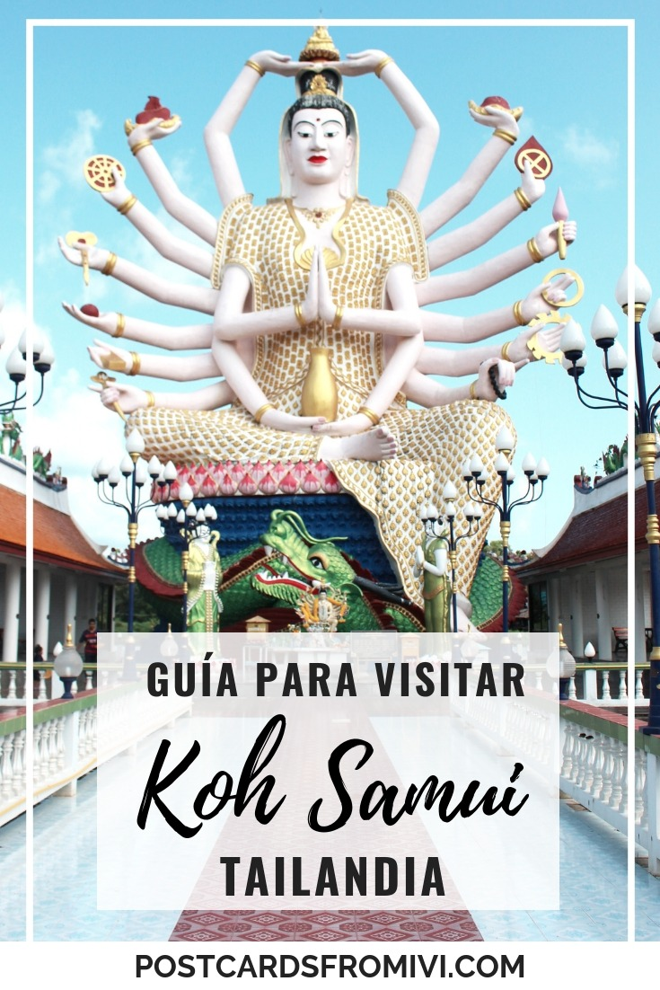 Que hacer en Koh Samui, Tailandia - Guía para planear tu viaje