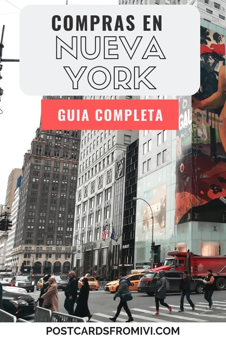 Compras en Nueva York - Guía completa