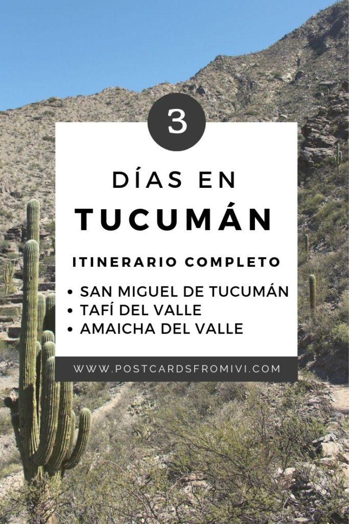 Qué visitar en Tucumán en 3 días