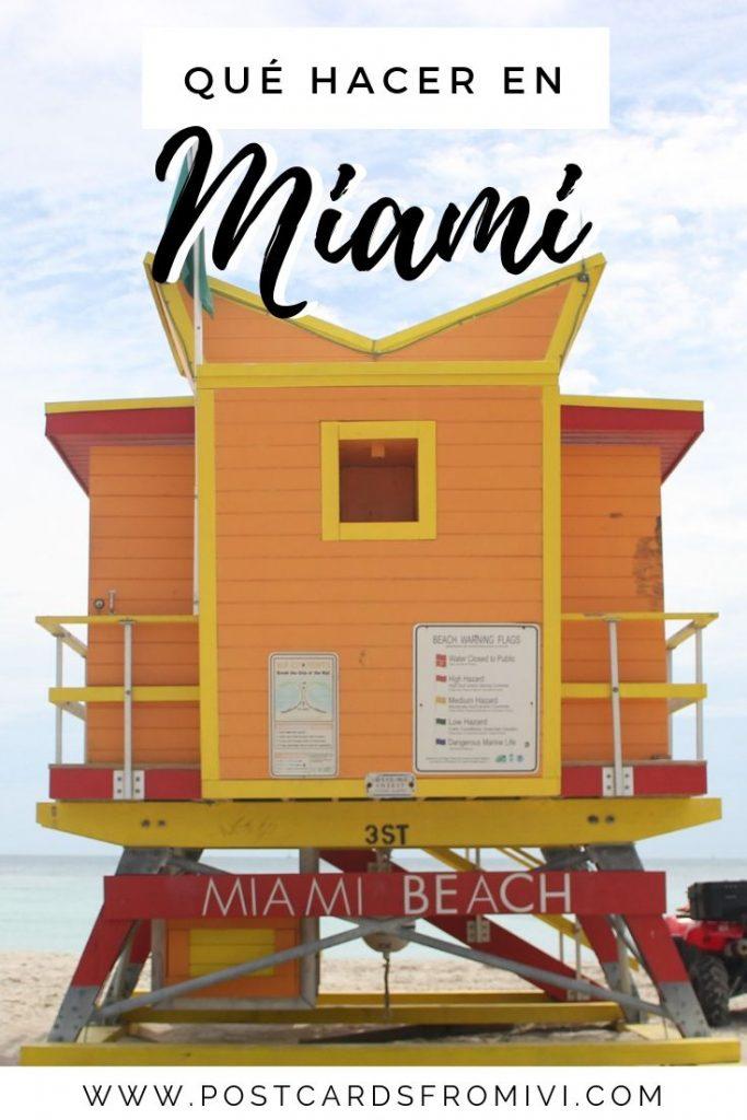 Qué hacer en Miami en 3 días - Guía completa