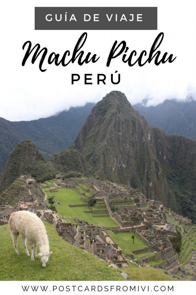 Guía para visitar Machu Picchu - Cómo llegar desde Cusco