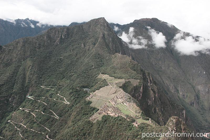 Guía para visitar Machu Picchu - La vista desde Huayna Picchu