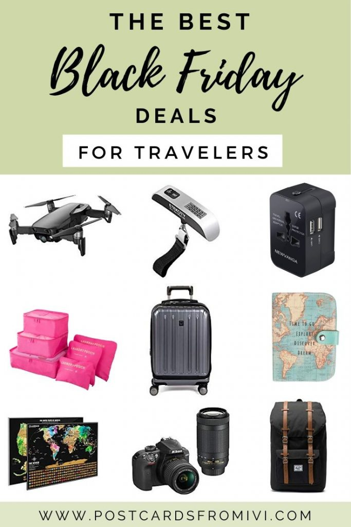 Amazon Black friday deals for traveler