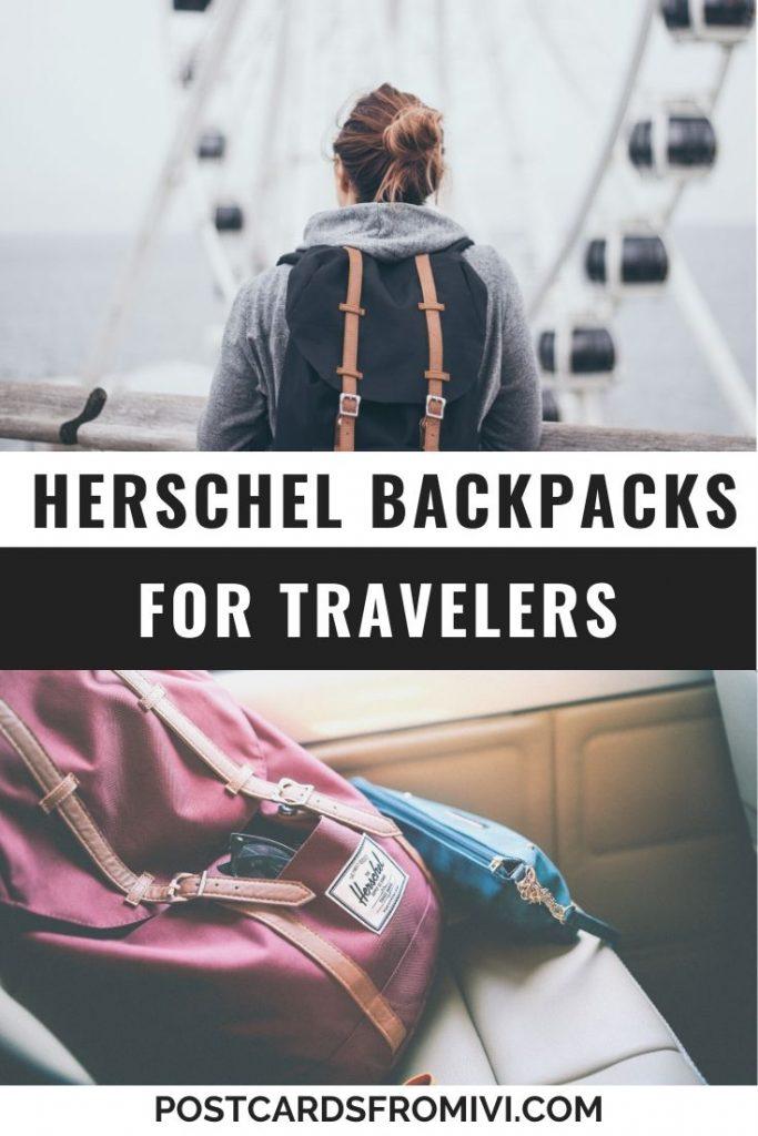 10 Best Herschel backpacks for travelers