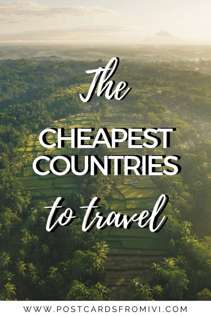 25 cheapest countries to visit in 2021