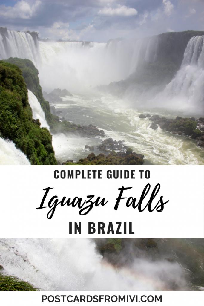 Guide to visiting Iguazu Falls in Brazil