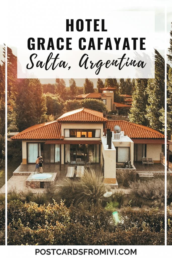Hotel Grace Cafayate, una estadía de lujo entre viñedos