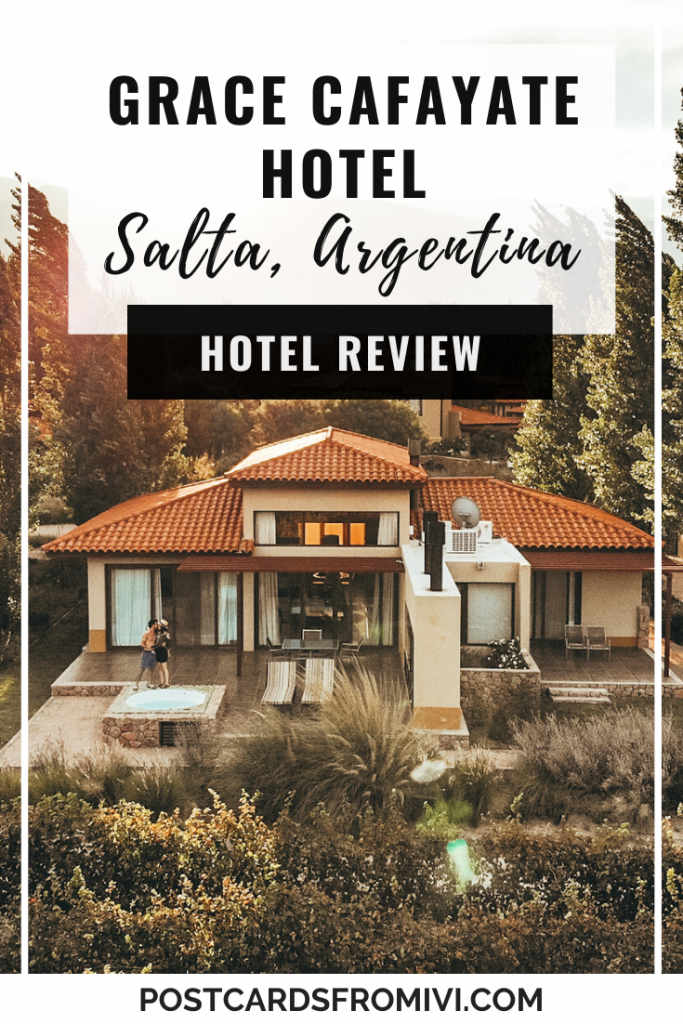 Grace Cafayate Hotel, a luxurious stay in Salta