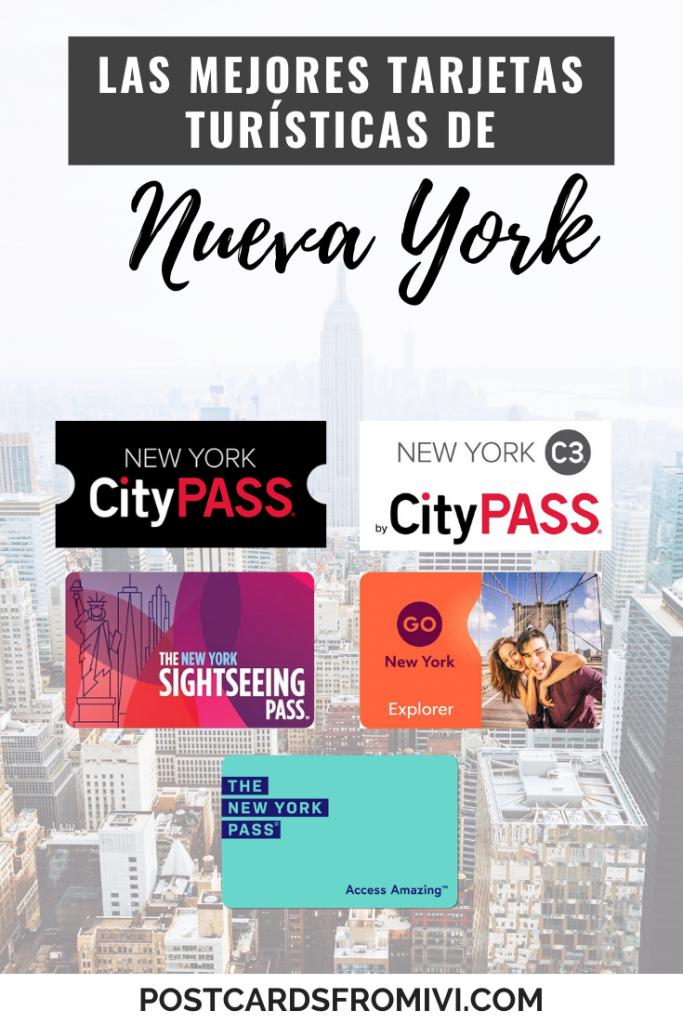 Tarjetas turísticas de Nueva York - Comparativa