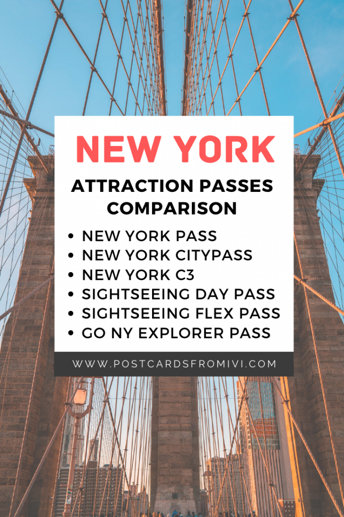 Best New York attraction passes - Comparison
