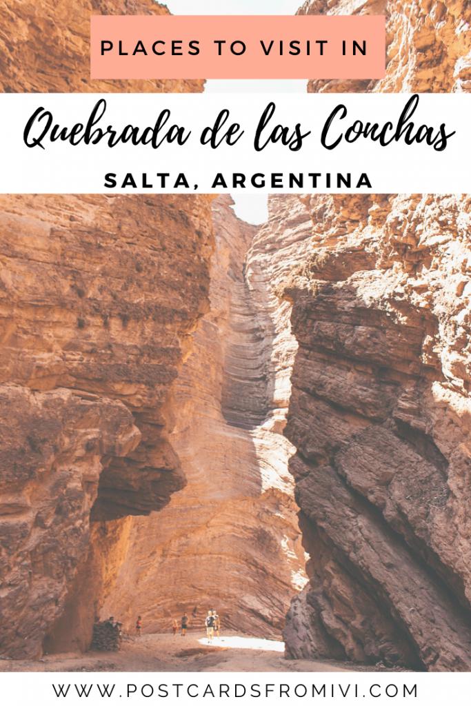 Quebrada de las Conchas: road trip from Salta to Cafayate