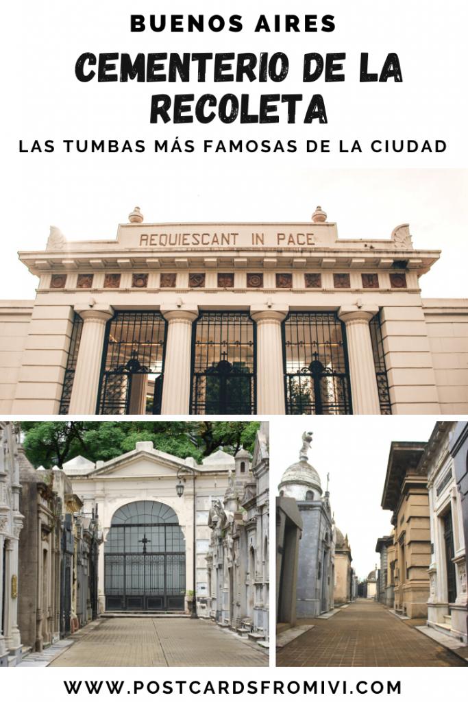 Visitando el Cementerio de la Recoleta, las tumbas más famosas de Buenos Aires