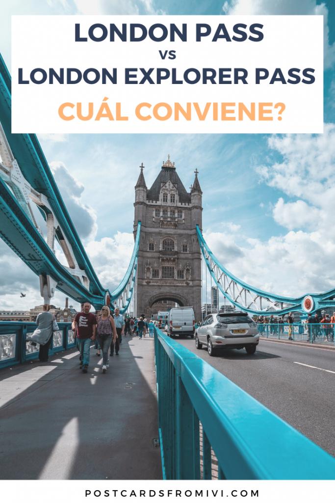 Conviene el London Pass o London Explorer Pass? Comparativa