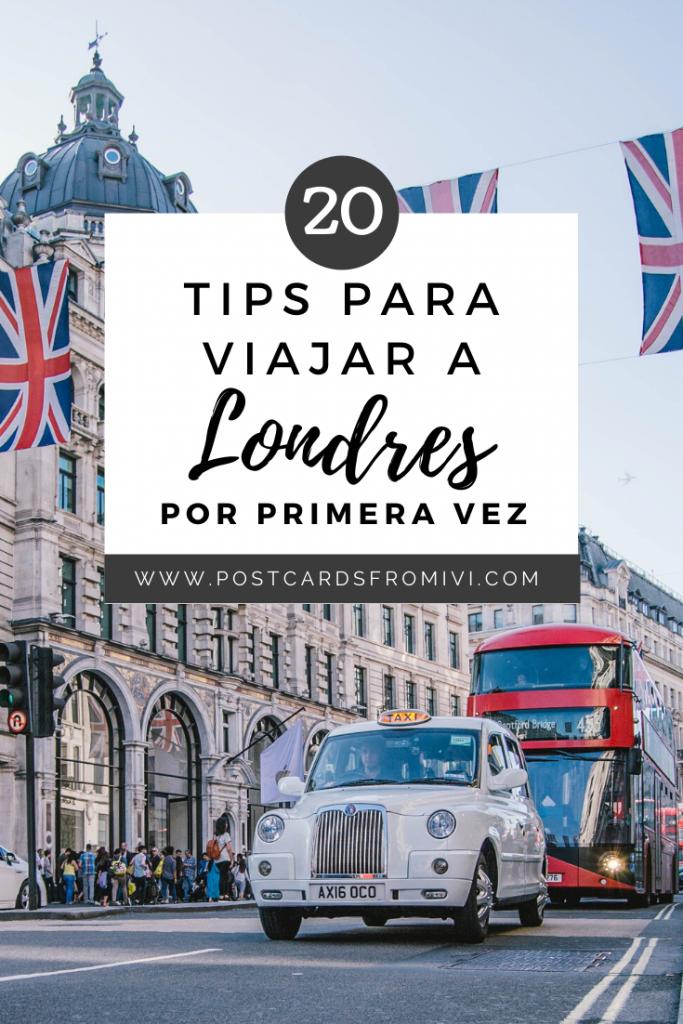 20 Consejos para viajar a Londres por primera vez