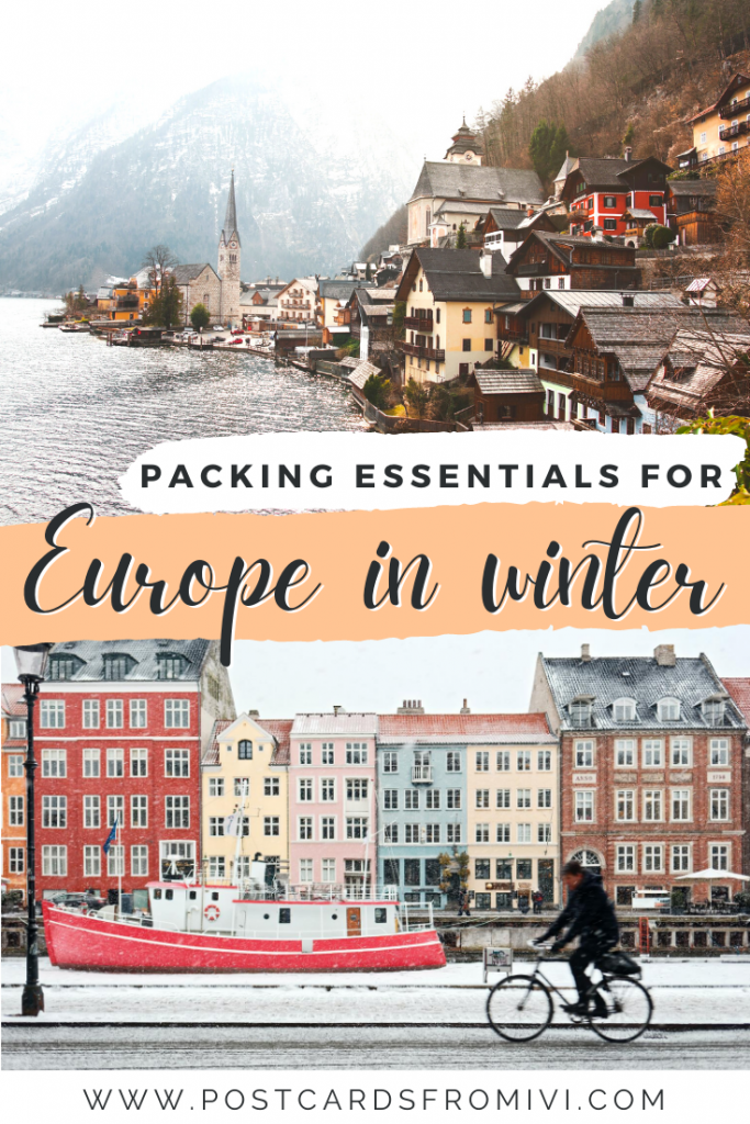 Winter packing list for europe: essentials for Europe in winter