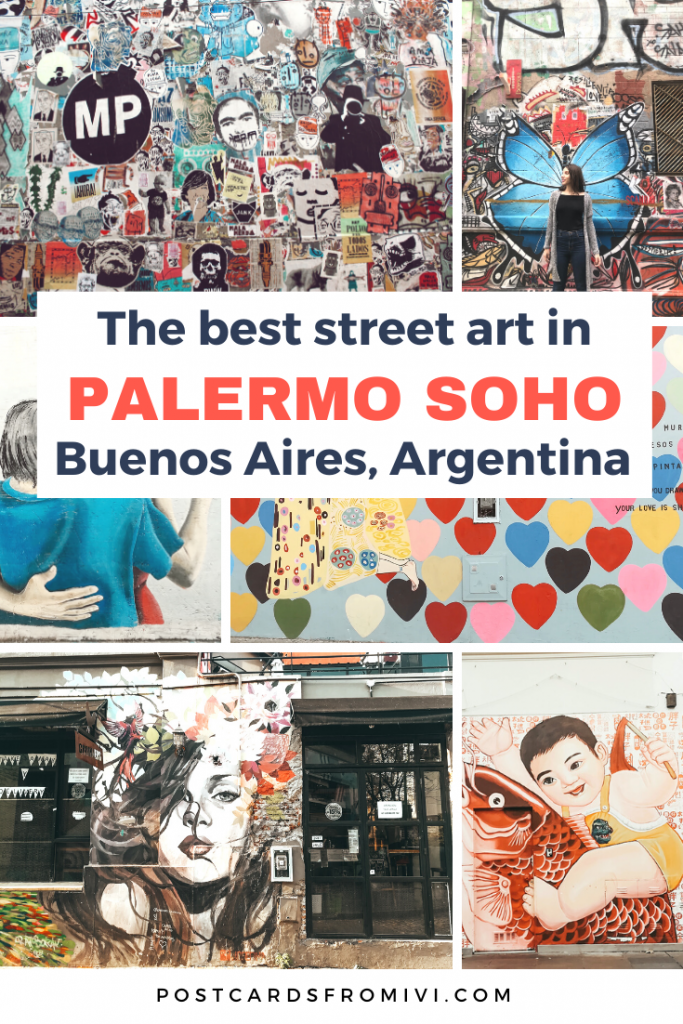 The best street art in Palermo Soho, Buenos Aires