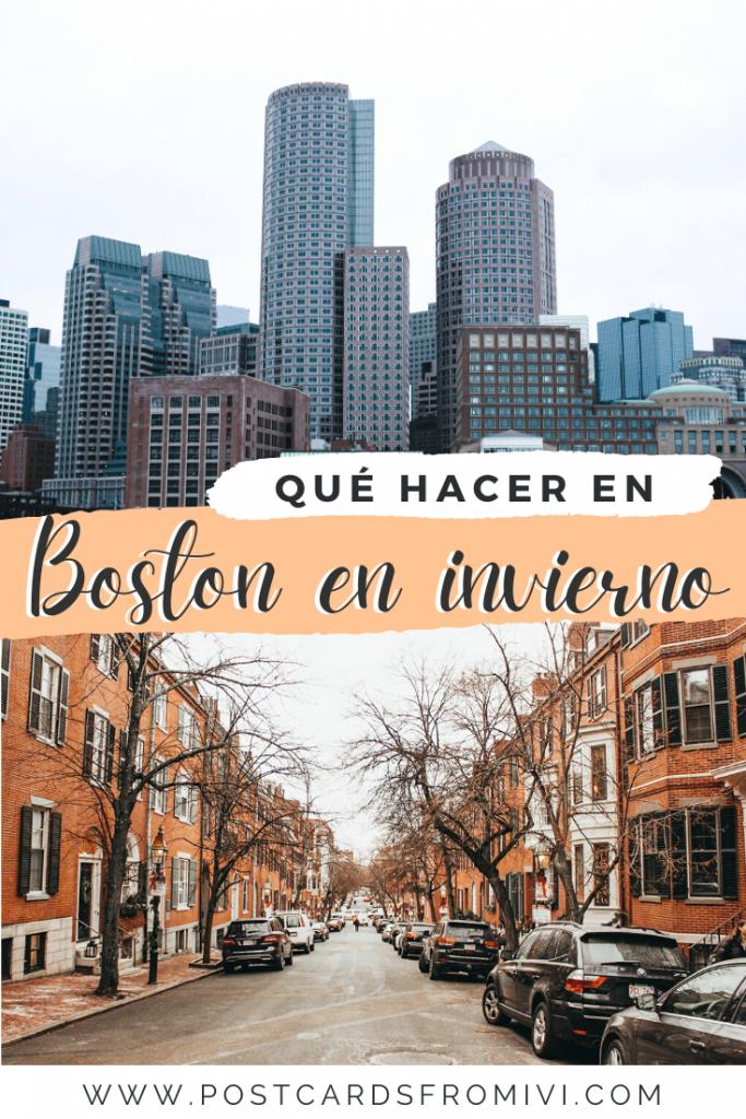 Qué hacer en Boston en invierno