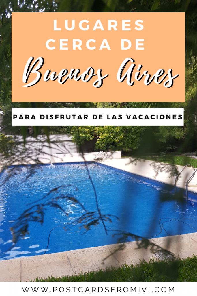 Staycations: lugares cerca de Buenos Aires para disfrutar de las vacaciones
