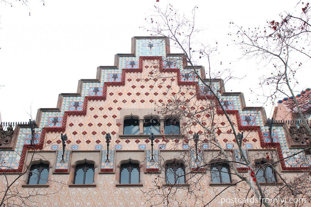 Fachada de la Casa Amatller
