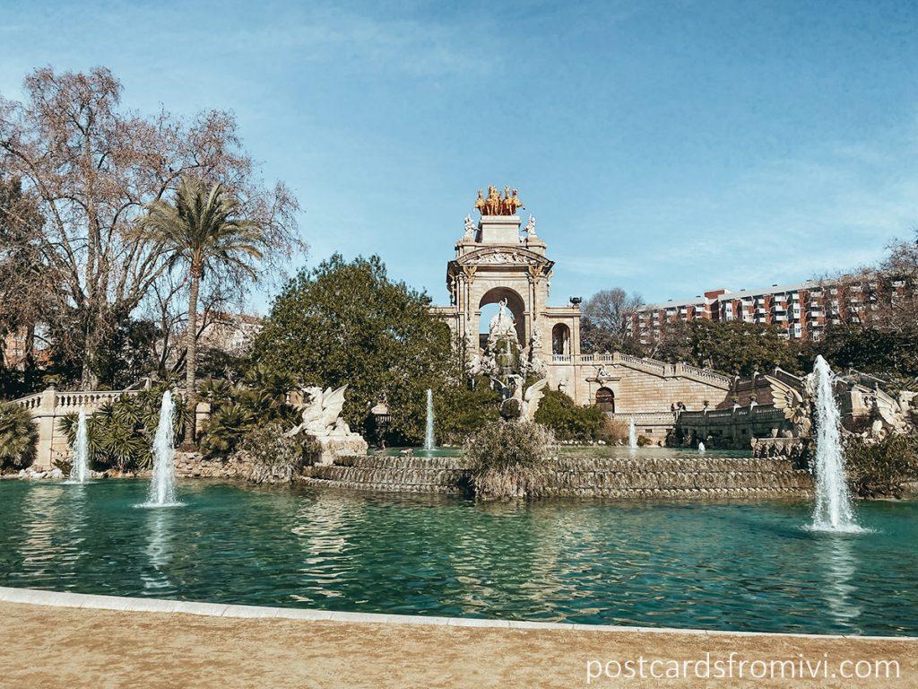 Parc de la Ciudatella Barcelona