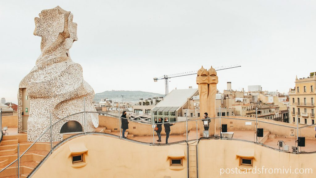 Visita a La Pedrera de Gaudí en Barcelona